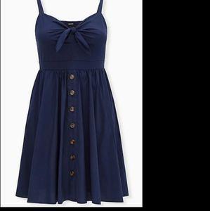 Brand new Torrid summer bow dress